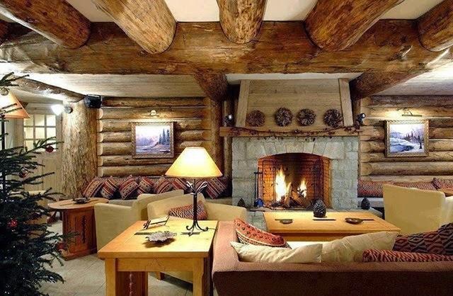 Decoraci n al estilo campestre construarte c a - Decoracion de interiores rustico moderno ...