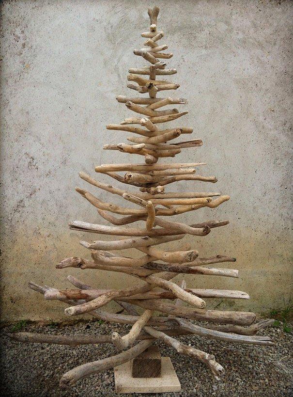 Un rbol de navidad hecho en casa construarte c a - Arbol de navidad hecho en casa ...