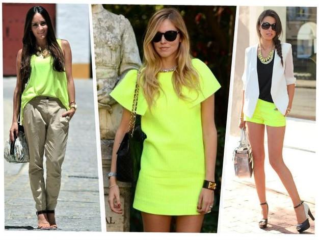 tendencias de la moda neón