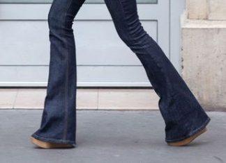 pantalon bota ancha